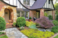 Fountain garden in white - Annebelle hydrangea, Zinna, Summer snapdragon Angelonia, Scaevola, Diamond Frost Euphorbia, Impatiens