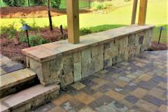 Stone-Seatwall-Dry-Stacked-Ashler
